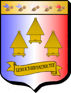 Blason Le Rucher Patriote façon traditionnelle..