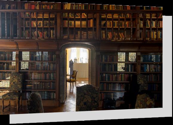 Bibliothèque du Chateau de Candé